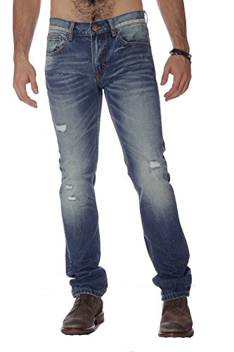 Pantalone Uomo Denim Blue Raw Sun68 26187 Niki, 31 MainApps