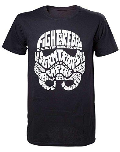 Preisvergleich Produktbild Star Wars T-Shirt -2XL- Stormtrooper Word Play