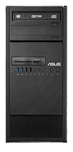 Asus ESC500 G4-M3L - Computer desktop (Intel Xeon E3-1245 V6, 16 GB di RAM, 1 TB HDD + 256 GB SSD, ASUS TURBO-GTX1060-6G, Windows 10 Professional), nero