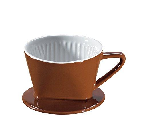 Cilio 105551 Kaffeefilter Größe 1, marone