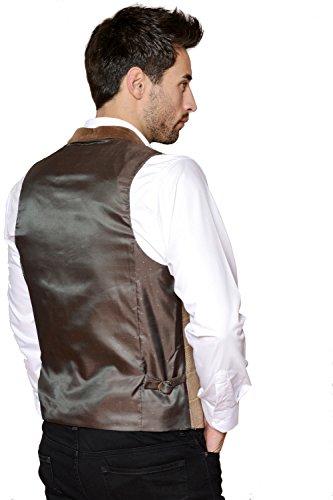 Marc Darcy - Blazer - Blazer - Homme Tan Waistcoat
