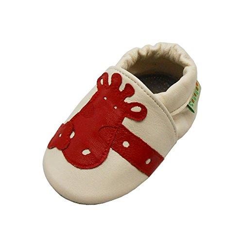 Sayoyo Borboleta Rosa Bordados Menina Suaves Únicos Sapatos De Bebê De Couro Enfants Arroz Branco
