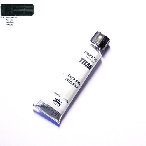 ÓLEO NEGRO HUMO TITAN Extrafino 6 - 20ml. Nº 84