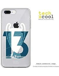 Funnytech® Funda Silicona para iPhone 8 Plus [Carcasa Flexible Resistencia y Definición] Copa
