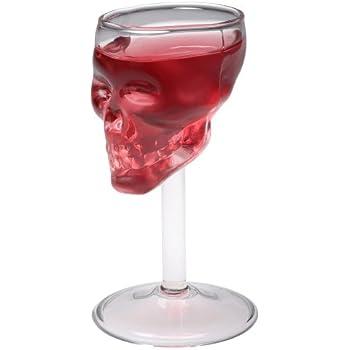 Verre à liqueur Tête de mort Skull Transparent Verre La chaise longue 31-K2-014