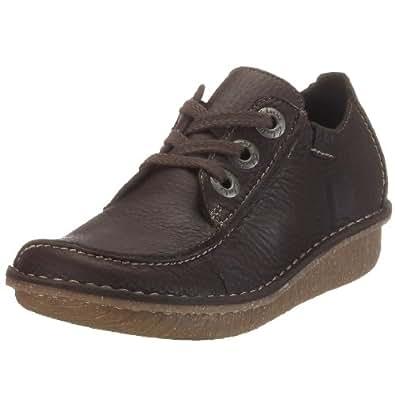 Clarks Funny Dream 203019404 Damen Sneaker, Braun (Ebony), EU 37
