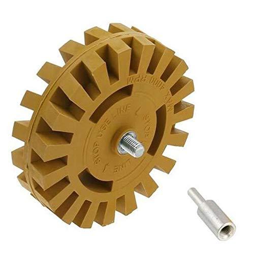 Peanutaod 4 Zoll pneumatische entschleimscheibe zu gummirad schleifscheibe Auto Reifen polierscheibe