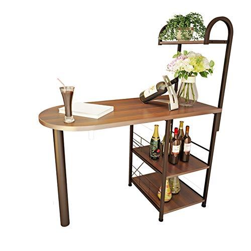 JNYZQ Haushalt Wohnzimmer Bar Tisch Weinkühler Küche Gegen Die Wand Esstisch Lagerung Regal Computer Schreibtisch