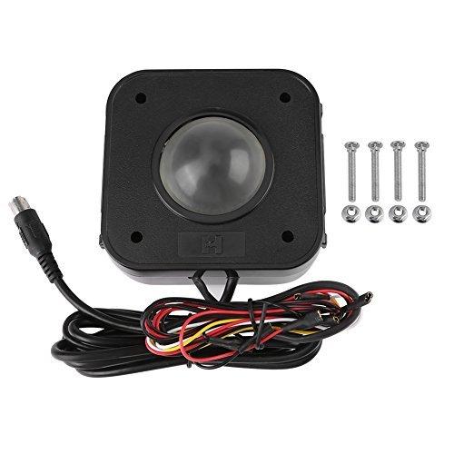 walfront ratón para Trackball Arcade, Conector para Circuito Impreso LED Redondo Trackball PS/2de 4,5cm para Arcade