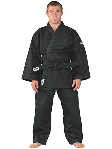 KWON Judoanzug Training schwarz, mittelschwer 170