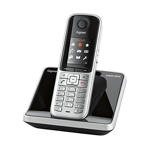 Gigaset SX810 ISDN Dect-Schnurlostelefon für den ISDN Anschluß, stahlgrau