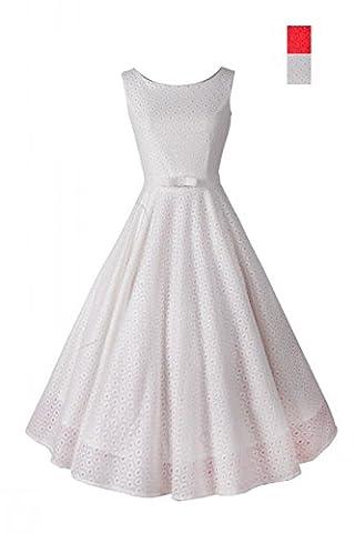 iHaipi - Femme Rétro Vintage années 50 's Style Audrey