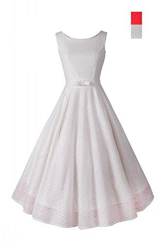 7fa993ab46dc28 iHAIPI - Damen Partykleid Cocktailkleid ärmellos gefaltetes Art und Weise  Kleid Halter Kleid (03.