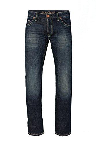Denim Und Co (Camp David Herren Jeans Straight Leg CO:NO:C622 DARK VINTAGE COMFORT FIT, Farbe: Dunkelblau, Größe: 31/34)
