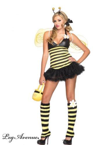 Sexy Bienenkostüm für Damen - XS