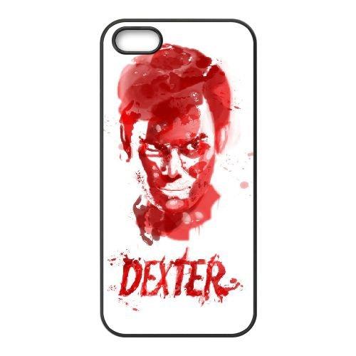 Dexter Blood coque iPhone 4 4S Housse téléphone Noir de couverture de cas coque EBDXJKNBO09562