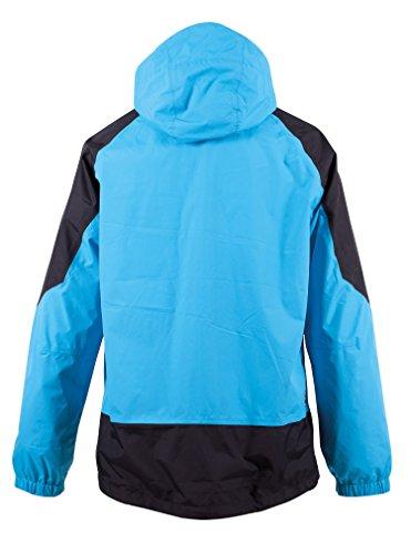 Deproc Active Herren Jacke Regenjacke Blau