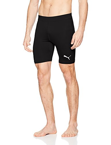 Puma Herren Liga Baselayer Short Tight Kurze Hose, Black, M