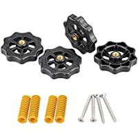 3DINNOVATIONS Heatbed Spring Hand Twist Leveling Kit Leveling Nut+Hot Bed Spring+M440 Screws for MK3 Heated Bed for…