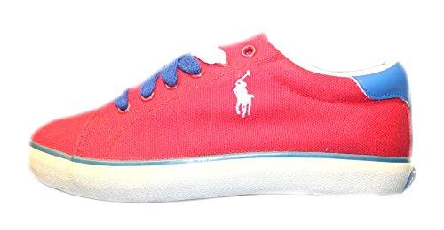 Polo_Ralph Lauren , Jungen Sneaker, Rot - rot - Größe: 36 EU - Lauren Sneaker Ralph Polo Kinder
