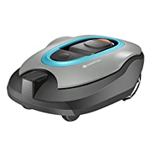 Gardena 04055-68 Sileno+ Robotic Lawnmower, Gradients to 35 Percent, Silent Drive Motor, Wet Conditions, SensorCut and SensorControl System, UK Power Plug, Up to 1600 sq m