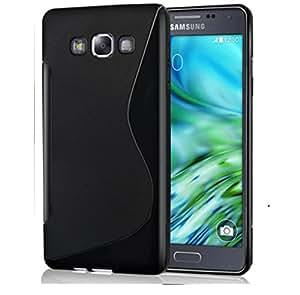 SamSung One 5 Magic Brand S-Line Black Soft Silicon Back Cover Case