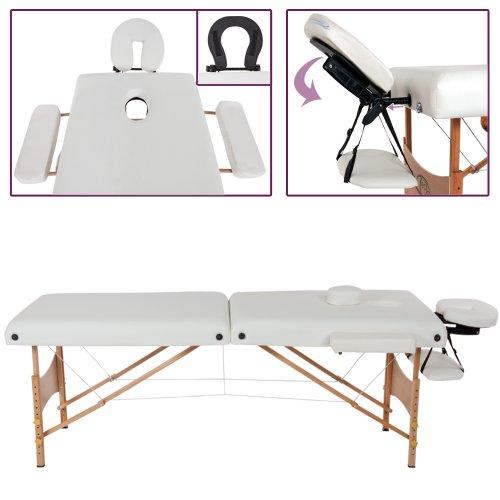 TecTake Massageliege –  7,5cm Polsterung - 2