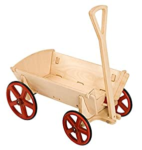 Moover Wooden Prairie Wagon - Natural