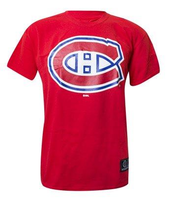 NHL Eishockey Logo T-Shirt MONTREAL CANADIENS rot (XX-LARGE)