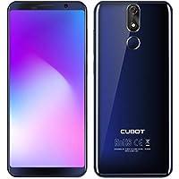 QIUQIONG TAN [HK Stock CUBOT Power, teléfono móvil, 6GB + 128GB, Identificación de Huellas Dactilares, 6000mAh Batería, 5.99 Pulgadas Android 8.1 MTK6763T (Helio P23) Octa Core hasta 2.5GHz, Red: Dua
