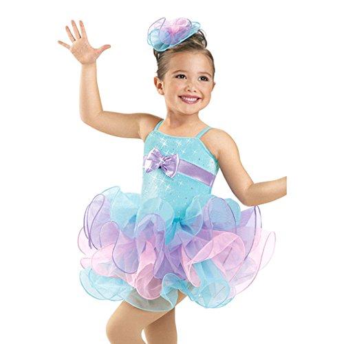 Geschenk-Idee! Herrliche Prinzessin Design Ballett- Ballettröckchen-Kleid / Tanzkleid, Mädchen Größe 4-8 , Preis / Stück - 8