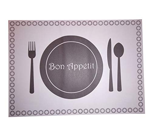 t, für Ihren Esstisch, für Gastronomie, Hotel, Kneipe, Party, Büro, rechteckig, rutschsicher, für den Innen- und Außenbereich, DIN A3, holz, blau, 50 sheets ()