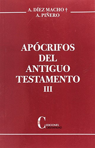 Apocrifos Del A.T. Tomo 3. (Rust.) Cristiandad, Ediciones