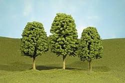 Bachmann Trains inches 4 inches Deciduous Trees 3 Per Box
