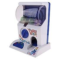 Bonarty Mini Capsule Machine Doll Machine Twisting Egg Music Kid Toys Game, Gashapon Machine for Kids Party