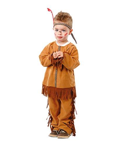 Indianerkostüm für Kleinkinder 1-12 (Kleinkind Indianer Kostüm)