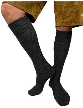 Herren Trachtensocken Trachten Socken Strümpfe für Lederhose Kniebund Kurz Hose 39-42/ 43-46 / 47-49