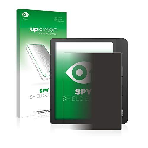 upscreen Anti-Spy Blickschutzfolie kompatibel mit Tolino Vision 5 Privacy Screen Sichtschutz Displayschutz-Folie