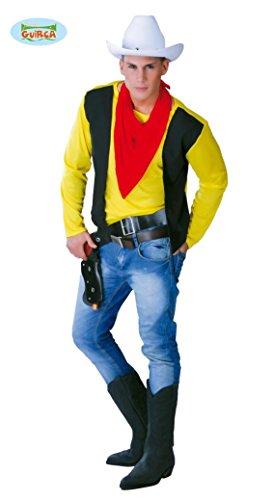 KOSTÜM - COWBOY - Größe 52-54 (L), Wilder Westen Indianer Revolverheld Rodeo Reiter Pistolero Comic (Pistolera Kostüm)