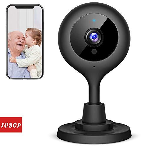 Victure 1080P FHD Baby Monitor avec Caméra IP Wifi Caméra de sécurité sans fil à la maison avec Night Vision Détection de Mouvement Sound Detection Audio Caméra de surveillance à l
