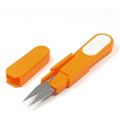 Sourcingmap a13060700ux1265 - Arancio primavera guscio forbici filato disegno thrum per punto croce