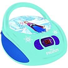 Lexibook RCD108FZ- Lector Radio CD Frozen, Azul