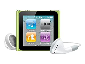 Apple iPod nano MP3-Player 8 GB (6. Generation, Multi-touch Display) grün