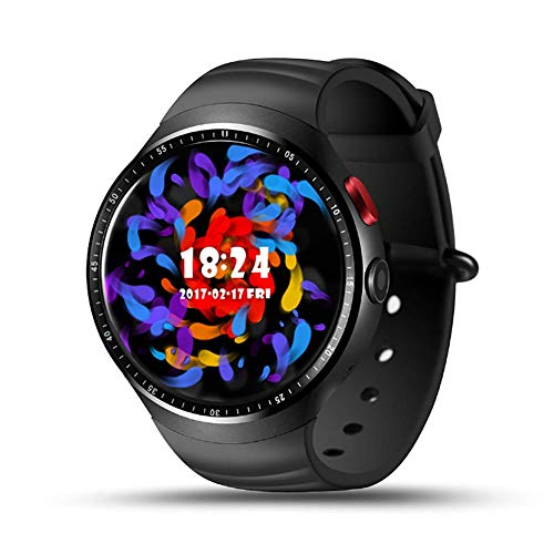 HECHEN Smart Watch Phone Android 5.1 1 Go + 16 Go Bluetooth Smart Watch iOS Android Smartphone, Moniteur De Fréquence Cardiaque HECHEN