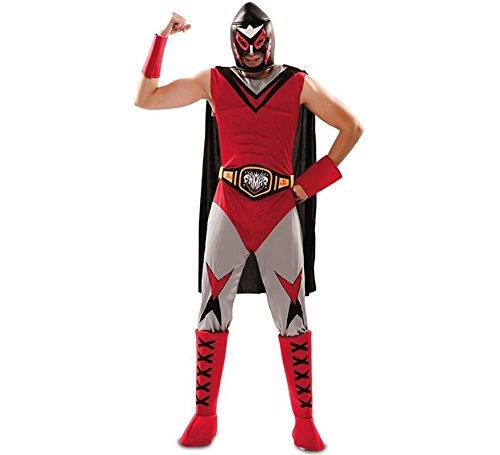 Disfraz de Campeón de Lucha Libre para hombre