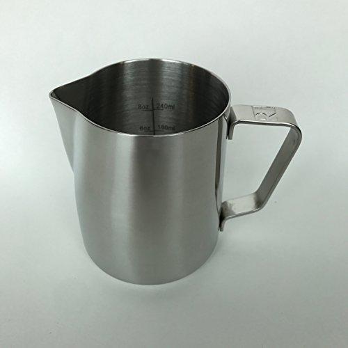 Espresso Dampfende Milch (Revolution ideal POUR Milch dampfende Krug, edelstahl, 430 g)