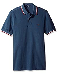 Fred Perry Twin Tipped Fred Perry Shirt Blue Carbon, Polo