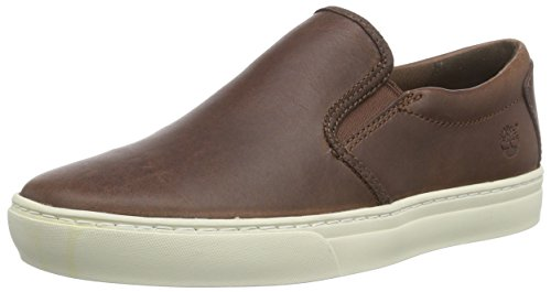 Timberland Slip On Dark Scarpe Low-Top, Uomo, Marrone (Dark Brown), 43