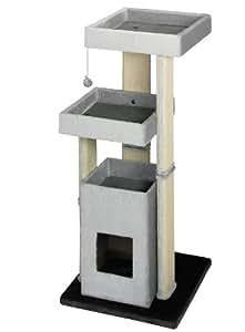 nobby 63041 53 kratzbaum f r katzen curico grau anthrazit haustier. Black Bedroom Furniture Sets. Home Design Ideas