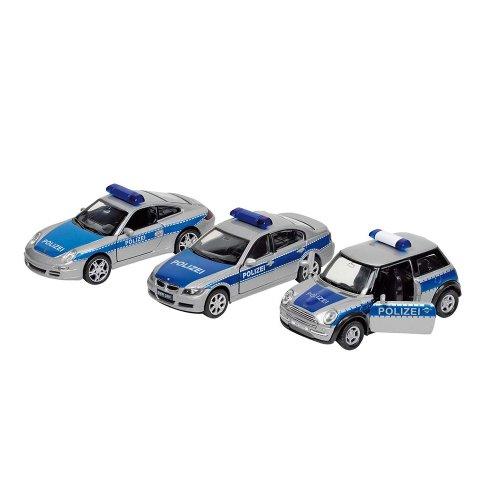 Polizei Spritzguß 1:34 mit Rückzug -
